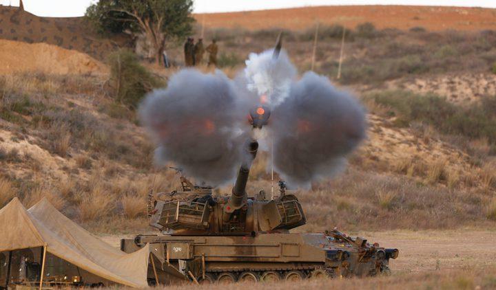 3 اصابات في قصف جوي ومدفعي على عدة مواقع في القطاع (محدث)