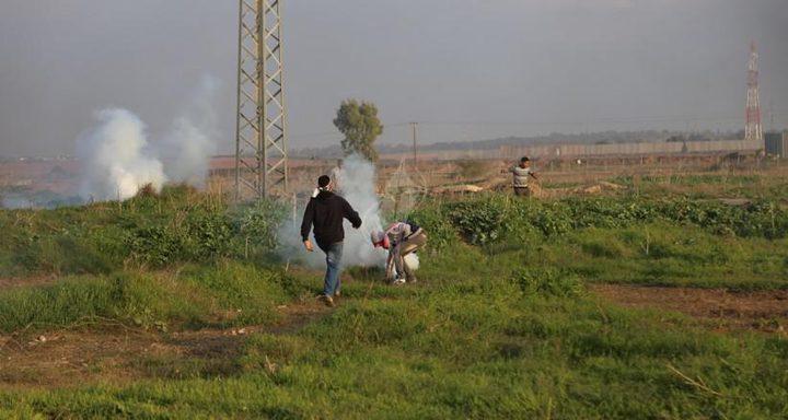 الاحتلال يستهدف الصيادين والمزارعين شمال غرب القطاع