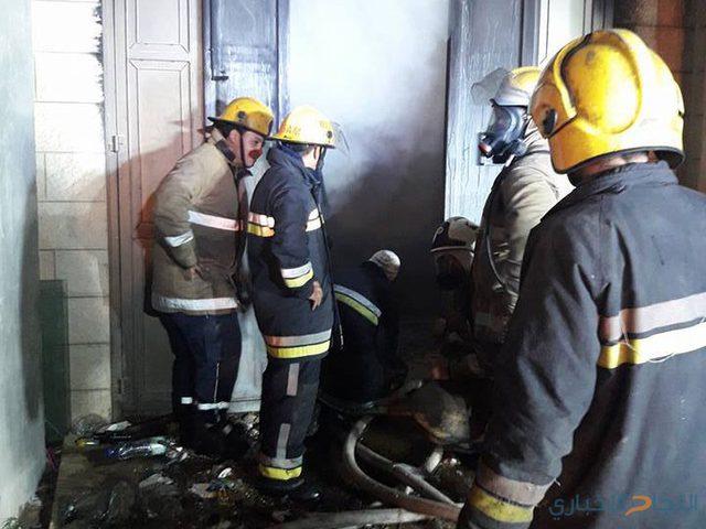 30 حادث حريق وإنقاذ خلال 24 ساعة