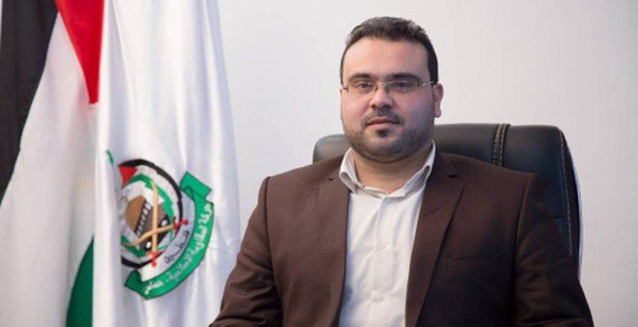 """قاسم """"للنجاح"""": حماس لا تنظر للحكومة من منطلق عداء وهي حكومة الشعب الفلسطيني"""