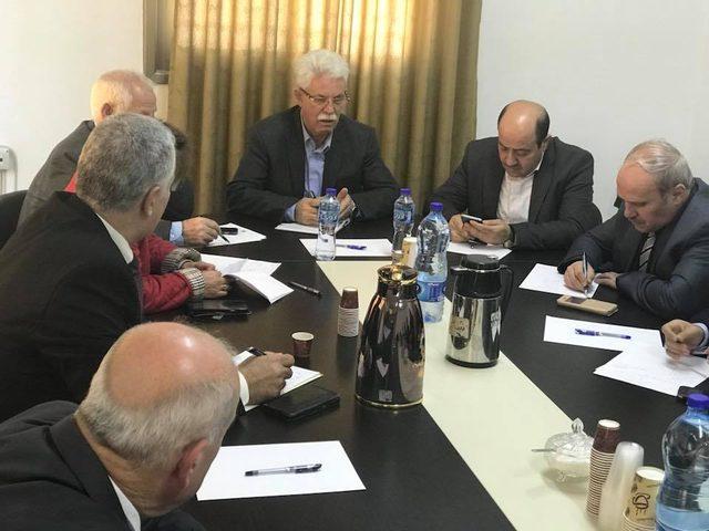 محيسن يعقد اجتماعات متواصلة حول اعلان ترامب القدس عاصمة لإسرائيل