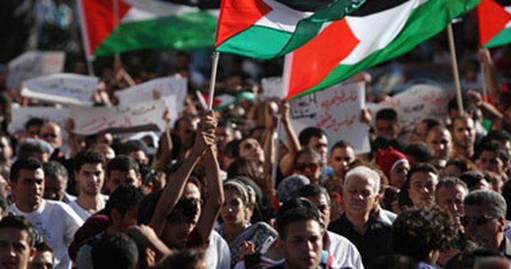 مظاهرات حاشدة في بغداد تنديدا بنية الاعتراف الأميركي بالقدس عاصمة لإسرائيل