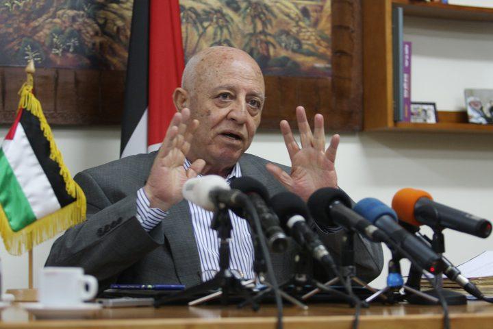 قريع: نقل السفارة الأميركية إلى القدس يدفع المنطقة إلى المزيد من التطرف