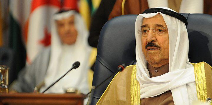 أمير الكويت: نأمل تحريك عملية السلام للتوصل لاتفاق شامل وفق المبادرة العربية