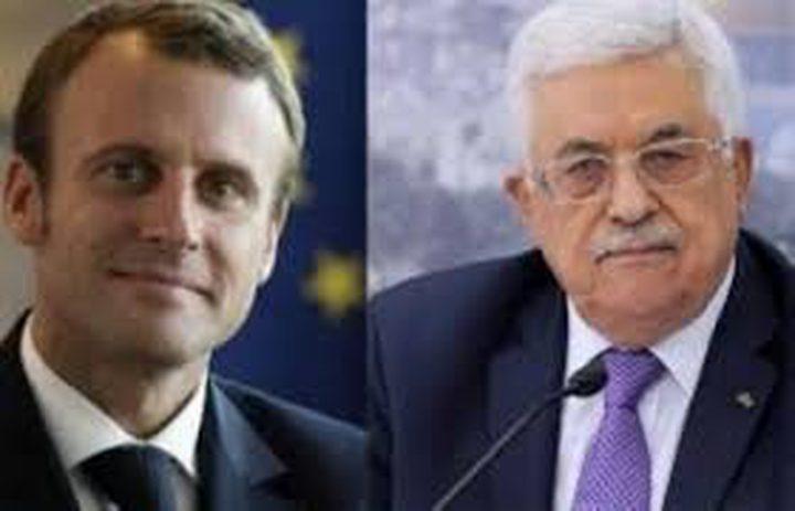 اتصال هاتفي بين الرئيس ونظيره الفرنسي