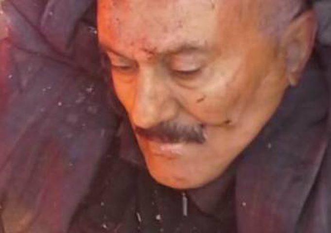 صورة للكمين الذي تعرض له صالح قبل قتله
