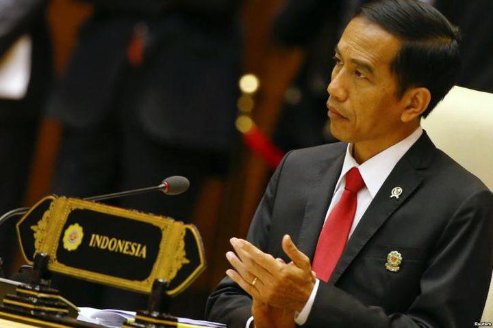 الرئيس الإندونيسي: إعلان أمريكا القدس عاصمة لإسرائيل يهدد السلام العالمي
