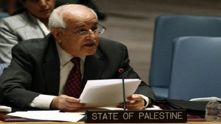مندوب فلسطين في الأمم المتحدة: إعلان ترامب استفزازي وله تبعات خطيرة