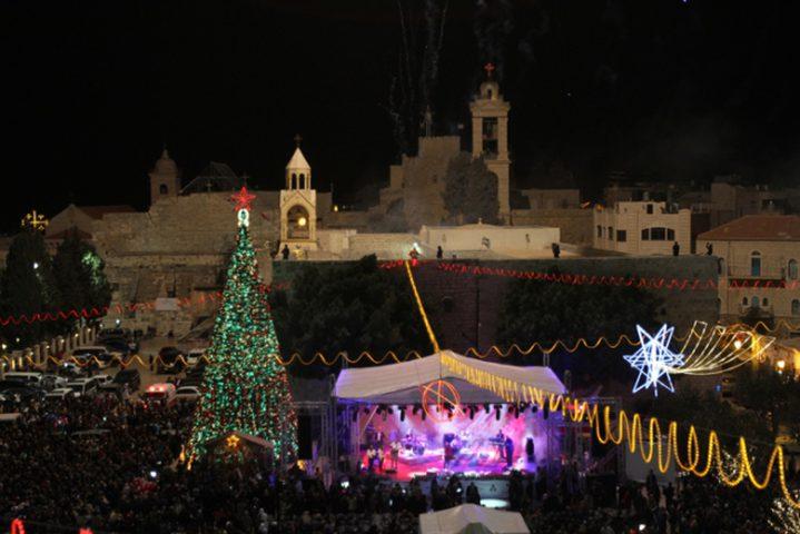 هل أجلت بيت ساحور  إضاءةشجرة الميلاد؟