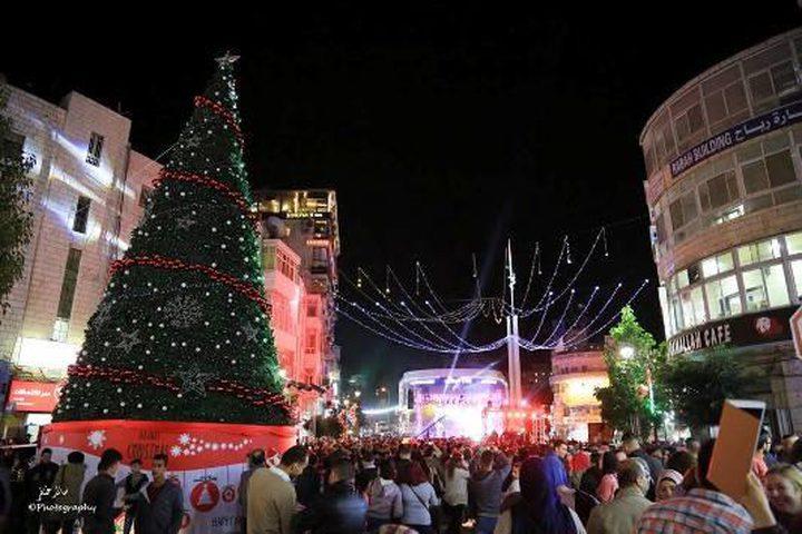 أردنيون يلغون مراسم الاحتفال بشجرة الميلاد