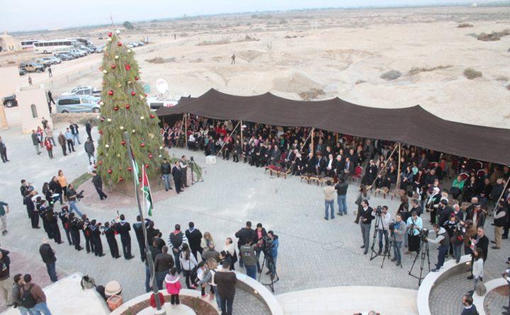 """""""تنشيط السياحية الاردنية"""" تلغي احتفالات عيد الميلاد في """"المغطس"""" تضامنا مع شعبنا"""