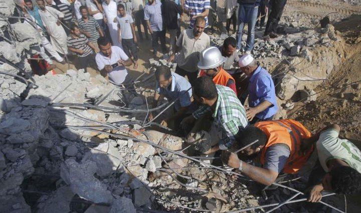 شهيدان في قصف إسرائيلي على غزة فجرًا (محدث)