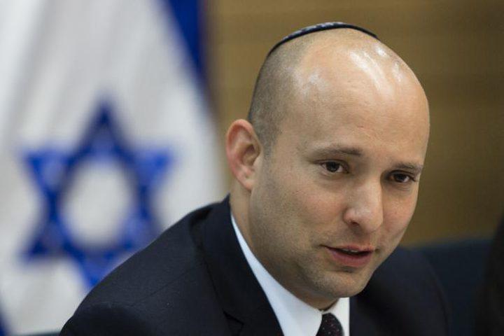 بينيت: سأنافس على منصب الحكومة بعد انتهاء نتنياهو
