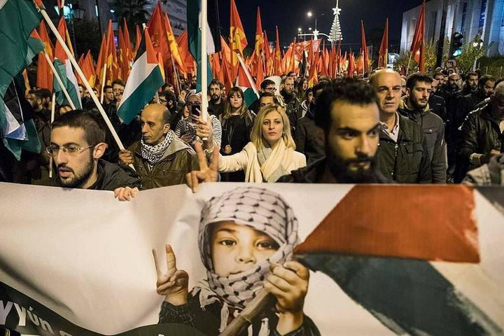 بالصور: مسيرات غضب بعدة دول تضامنا مع القدس