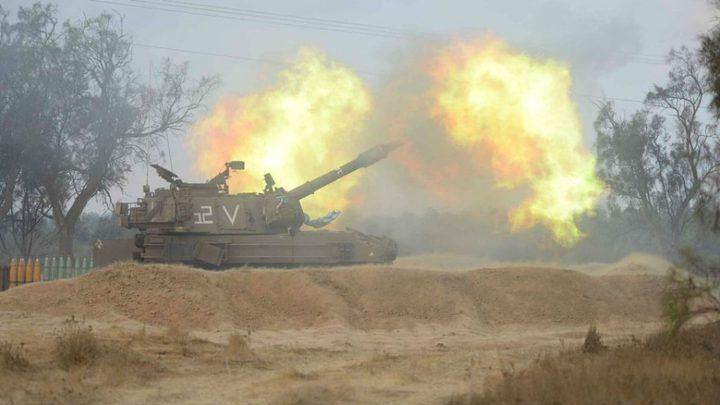 مدفعية الاحتلال تستهدف نقطة رصد للمقاومة جنوب غزة