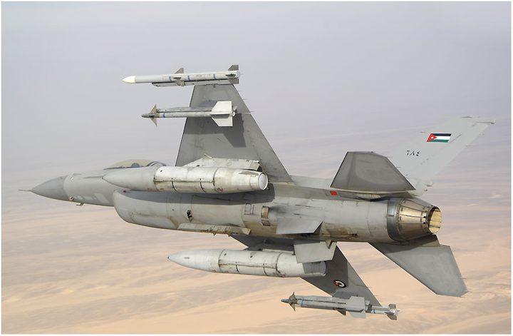 تحطم طائرة لسلاح الجو الأردني نتيجة خلل فني