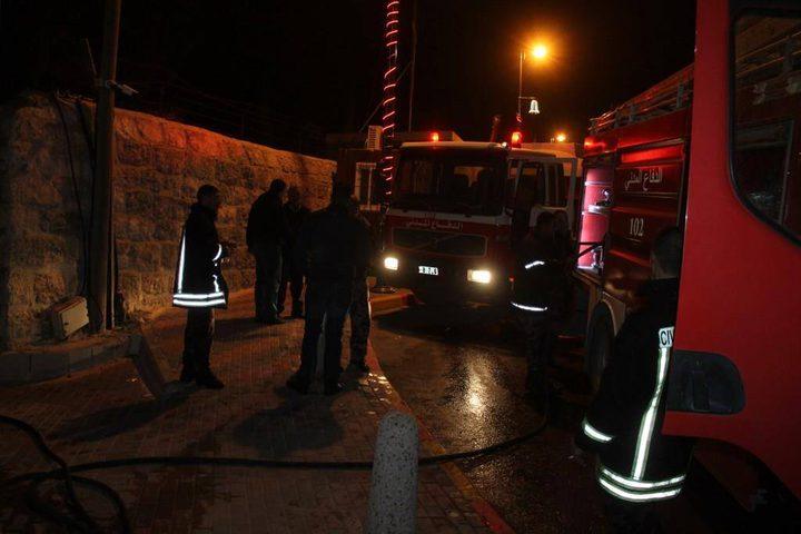 195 حادث حريق وإنقاذ خلال أسبوع