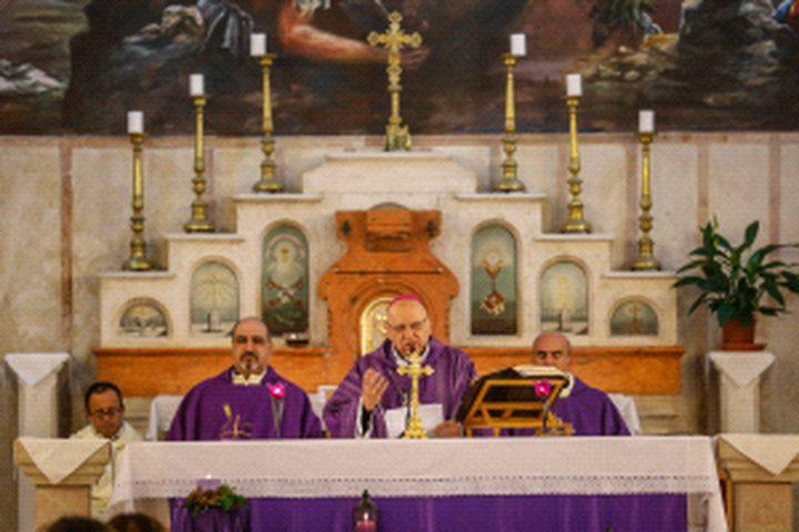 صلوات في كنائس رام الله ومسيرتان بنابلس وبيت لحم نصرة للقدس