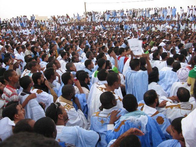 موريتانيون يطالبون بطرد السفارة الأمريكية