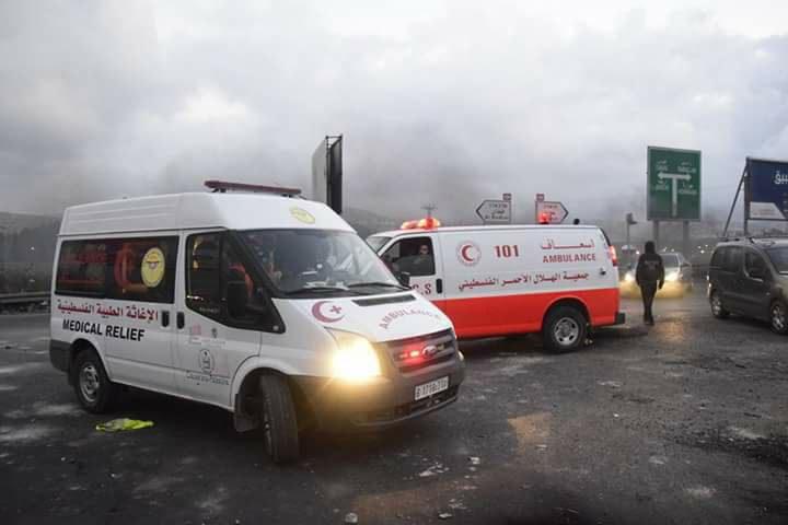الصحة: 378 إصابة بينها 42 نقلت للمستشفيات خلال مواجهات اليوم