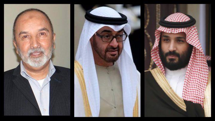 بن سلمان وولي عهد أبو ظبي يجتمعان مع رئيس حزب الإصلاح اليمني