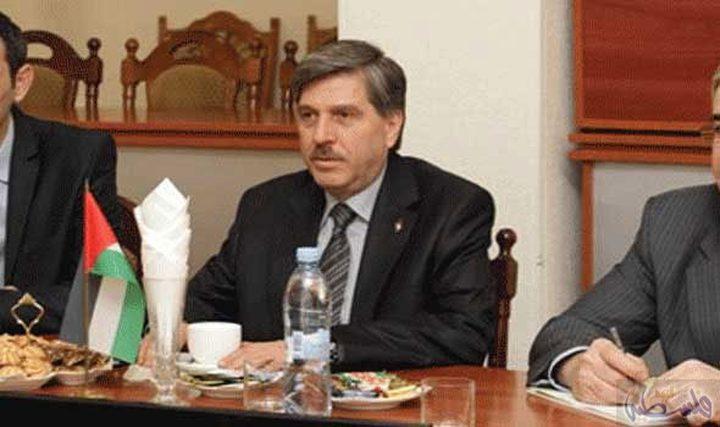 السفير عريقات يطلع نائب وزير خارجية بيلاروسيا على المستجدات السياسية