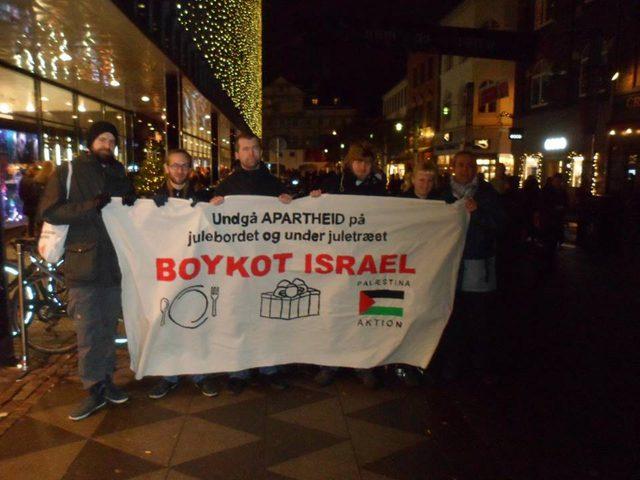 إطلاق حملة مقاطعة البضائع الإسرائيلية في الدنمارك