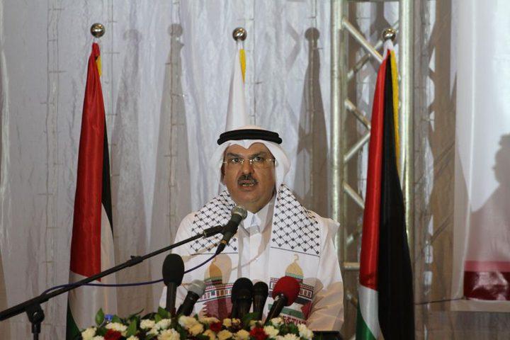 السفير العمادي يصل غزة لمتابعة المشاريع القطرية