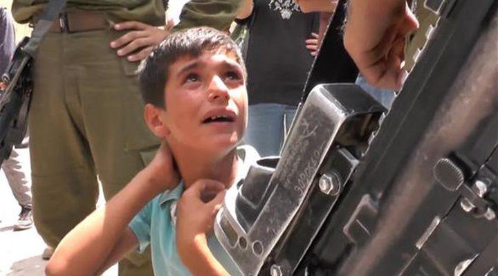 الاحتلال يعتقل طفلاً من سعير