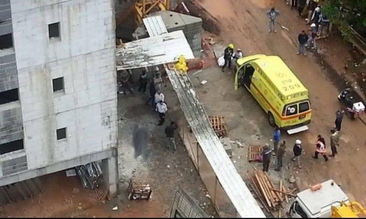 مصرع عامل بناء من بلدة صوريف