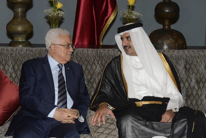 الرئيس يلتقي أمير قطر .. ماذا بحثا؟