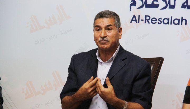 """أبو ظريفة لـ """"النجاح"""": قرارات الرئيس هامة ولا يوجد ما نخاف عليه لاتخاذ قرارات أخرى"""