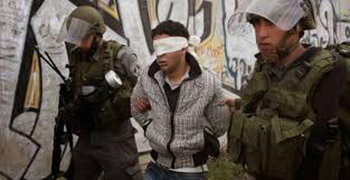 الاحتلال يعتقل شابا شمال نابلس