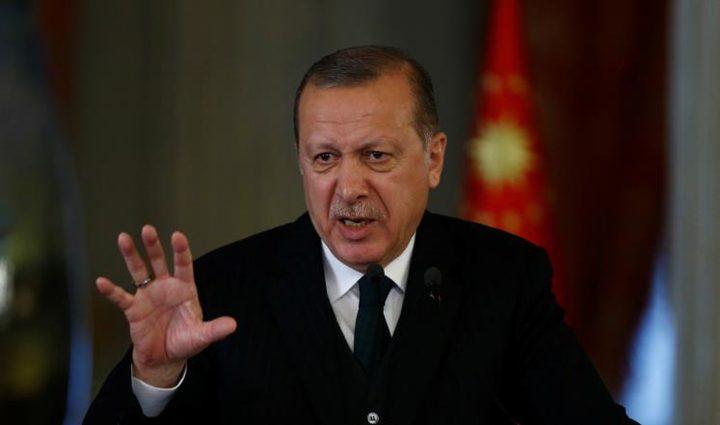 أردوغان يؤكد عزم بلاده تقديم مشروع قرار القدس للجمعية العامة
