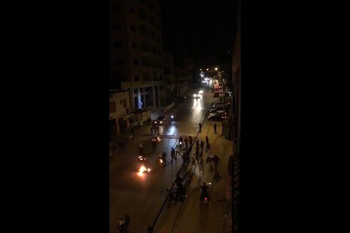 فيديو ...الاحتلال يقتحم منطقة الحسبة شرقي مدينة نابلس