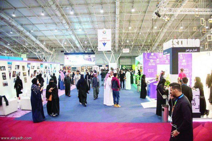 ملتقى ألوان في نسخته السادسة نجاح باهر وأكثر من(30) ألف زائر