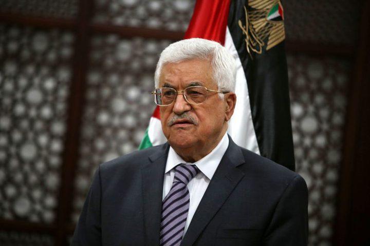 الرئيس يستقبل وفداً من مؤسسة سيدة الأرض الفلسطينية
