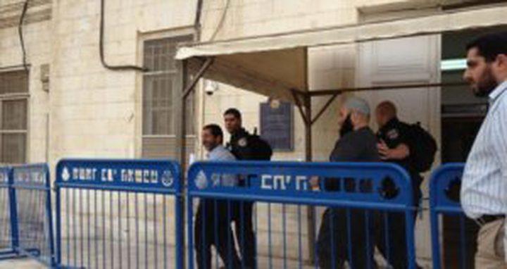 محكمة الاحتلال تقرر الإفراج عن أربعة مقدسيين بشروط