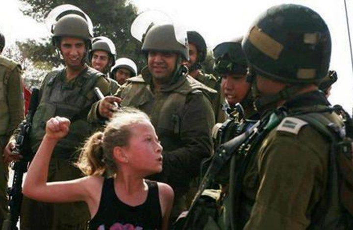 الاحتلال يعتقل والدة الفتاة عهد التميمي