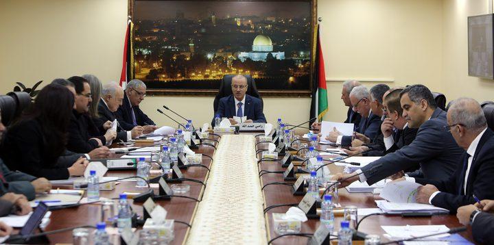 مجلس الوزراء: يؤكد دعمه الكامل لتوجهات القيادة الفلسطينية