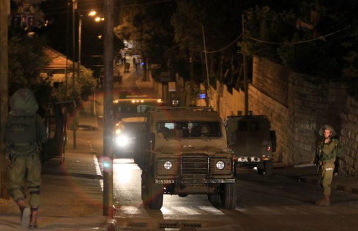 اقتحام واسع لنابلس ونحو 22 إصابة في صفوف المواطنين (محدث)