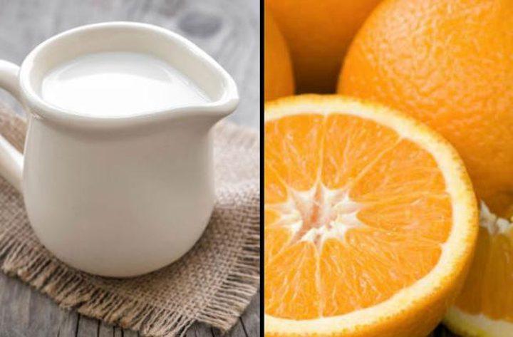 عصير البرتقال أم الحليب: أيهما أفضل في الصباح؟