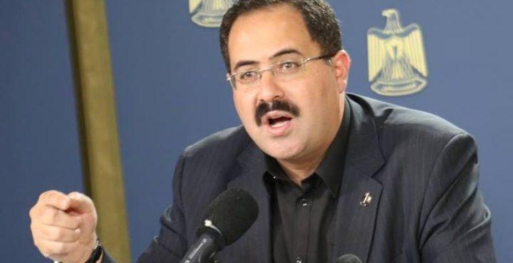 """""""التربية"""" تستنكر إخطار الاحتلال بهدم مدرسة """"أبو نوّار"""" الأساسية"""