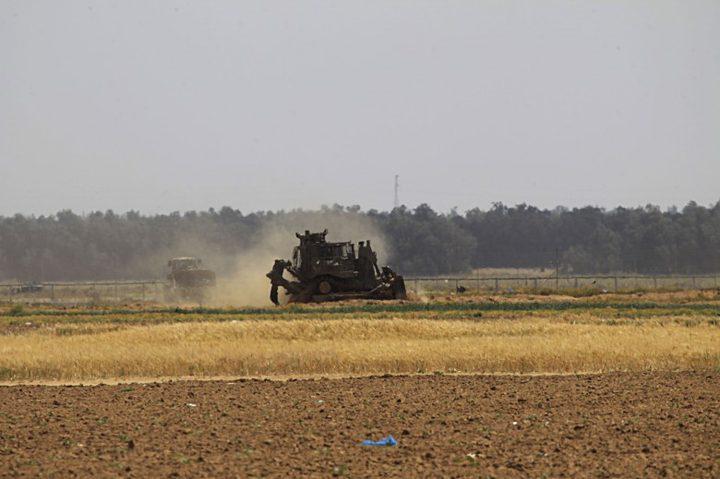 توغل محدود لجرافات الاحتلال جنوب القطاع