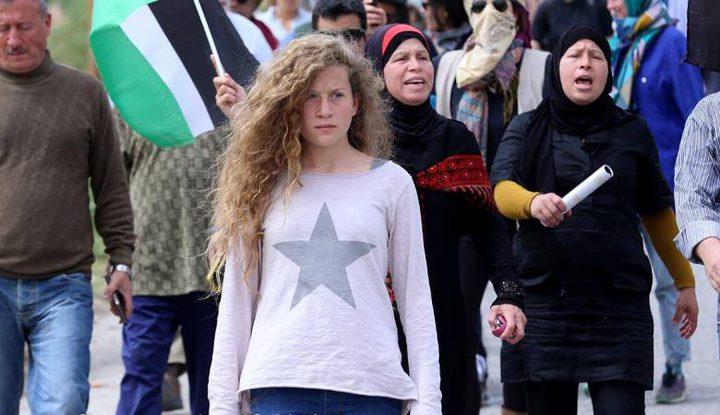 تمديد اعتقال الفتاة عهد التميمي ووالدتها