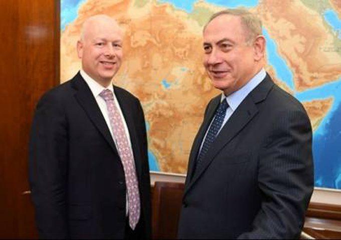 غرينبلات يصل اسرائيل وسط مقاطعة فلسطينية
