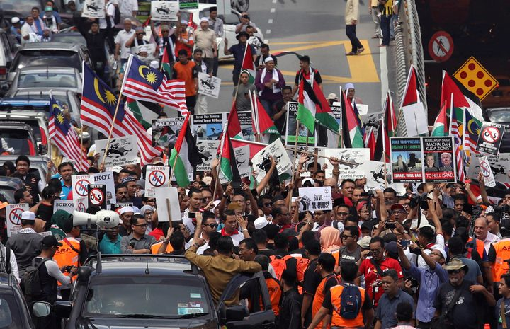 ماليزيا تعلن قرارا بشأن القدس في مسيرة تضامنية الجمعة المقبل
