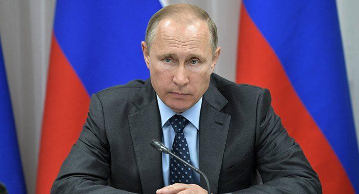 بوتين يدعو لمواصلة العمل على مكافحة الإرهاب وتعزيز الحدود الروسية