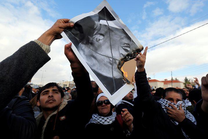 """الأردن .. اعتصام مفتوح أمام """"سفارة ترامب"""""""