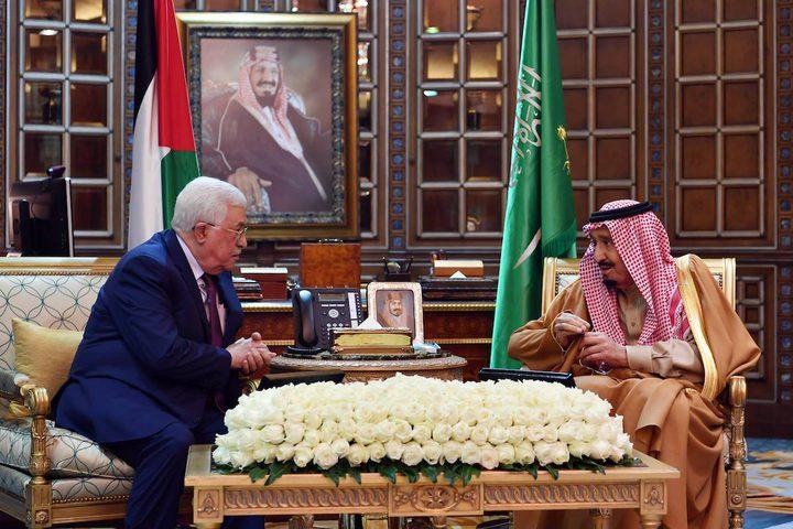 الرئيس يلتقي العاهل السعودي.. بحثا الرد على قرار ترامب (صور)